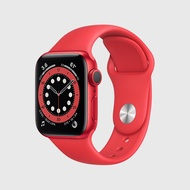 นาฬิกา Apple Watch Series 6 (GPS) Red Aluminum Case with Red Sport Band(40mm)