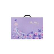 大黑松小倆口喜餅-紫色情深禮盒(雙層)-A式