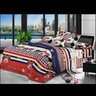 💖全新現貨米奇米妮標準雙人床包組💖