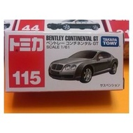 【大頑童玩具舖】【TOMICA多美小汽車】NO.115 賓利 BENTLEY CONTINENTAL GT