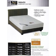King Koil Fiberatex Coconut 8 Inch 100% Coir Fibre Mattress With 10 Years Warranty