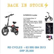 G-Force folding E bike C14