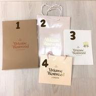 Vivienne Westwood 精品紙袋 牛皮紙袋