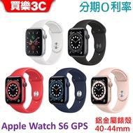 Apple Watch Series 6 GPS 鋁金屬錶殼搭配運動型錶帶 40mm-44mm 【公司貨】