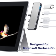 Surface Go USB C Hub, 4-in-1 Surface Go Dock with USB C to 4K HDMI Adapter, PD Charging, USB 3.0, 3.5mm Audio Jack for MS Surface Go and Surface Go 2 Accessories, MS Surface Go Docking Station