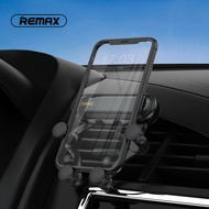 remax rl-ch01 car air outlet car phone holder air outlet gravity bracket flexible hands-free 360-degree rotating slot universal holder