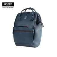 anello กระเป๋าสะพายหลัง Regular W-Proof Classic Backpack-anello lining -OS-N016 - NAVY