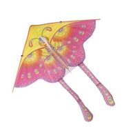 KMDSHXNS BUYINCOINS 90cm Beautiful Colorful Traditional Butterfly Kite Chinese String Without
