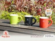快樂屋♪ 《寶馬牌》厚直陶瓷馬克杯 320cc (小) 可當拿鐵咖啡杯.泡茶杯.水杯.牛奶杯.陶瓷杯子