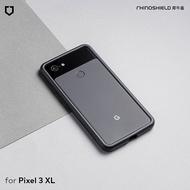 犀牛盾 Google Pixel 3 XL CrashGuard 防摔邊框手機殼白色