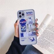 NASA เคสโทรศัพท์ฝ้า ปกป้องเลนส์ เคสโทรศัพท เคสไอโฟน เหมาะสำหรับกรณีโทรศัพท์มือถือ iPhone Apple 6/6S/6plus/6S plus/7/8/7plus/8plus/XR/XS/XS MAX/11/11 PRO/11 PRO MAX ป้องกันการล่มสลาย รวมทุกอย่าง เคสโทรศัพท์ iphone Case เคสไอโฟน ถูกๆ