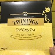 全新~TWININGS 伯爵茶 2g*100包  獨立包裝 唐寧茶