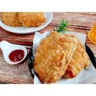 【紅龍】全熟特製原味雞排 10片/包(約1.5KG)(冷凍)
