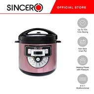 [Sincero Official] Sincero Multifunction 6L Pressure Cooker Non-SticK Pot