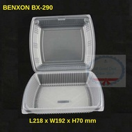 BENXON BX-290 (50pcs+/-) Big Lunch Box / Kotak Nasi / Food Container / Food Box / Bekas Makanan