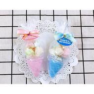 冰淇淋造型棉花糖 兒童禮物包 小朋友分享包 生日分享包 安親班禮物包 幼稚園慶生 幼兒園分享糖 果婚禮小物