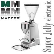 【MAZZER】義式咖啡機專用的電子定時款磨豆機  Super Jolly electronic  銀色