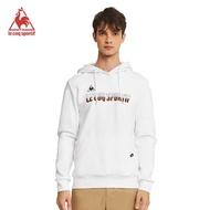 【LE COQ SPORTIF 公雞】連帽T恤 中性-白-LWM2334390