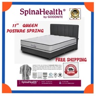 """FREE SHIPPING Goodnite Spinahealth [Limited Edition Royal Grandeur] Vitania 11""""Posture Spring Queen Mattress"""