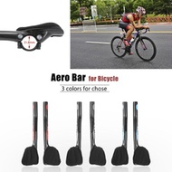 OUtdoor Bike Bars Carbon Fiber Road Bike Bicycle Aero Bar Rest Handlebar Aerobar 31.8mm