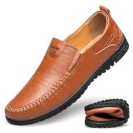 รองเท้าไม่มีส้นของผู้ชายรองเท้าคัชชูชายรองเท้าหนังชายรองเท้าคัชชู ผช