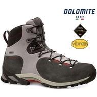 Dolomite 高筒登山鞋/健行鞋/黃金大底 男款 Lynx GTX 855602-002 銀灰/紅