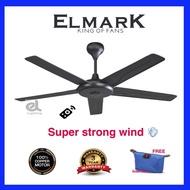 """Elmark 52"""" TP102 ceiling fan with remote control super wind fan"""