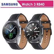 【SAMSUNG 三星】Galaxy watch 3 45mm 藍牙 不鏽鋼 智慧手錶手錶  SM-R840(送原廠運動錶帶+玻璃保貼)