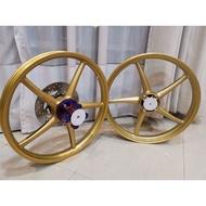 SP522 custom titanium hub enkei for y15 y15zr ysuku