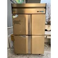吉田二手傢俱❤四門冷藏冰箱 白鐵冰箱 全藏冰箱 營業用冰箱 餐飲