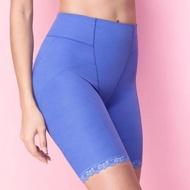 【Wacoal 華歌爾】Skin Lift UP系列 64-82 長管款束褲-瘦小腹提臀-機能雕塑(愛琴海藍)