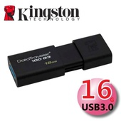 《金士頓 Kingston》16G DataTraveler100 G3 USB3.0 滑蓋式隨身碟 (DT100G3)