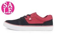 DC休閒板鞋 男鞋 現貨 低筒 休閒穿搭 六折出清H9435#黑紅◆OSOME奧森鞋業