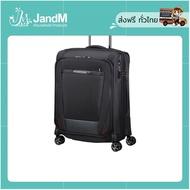 JandM กระเป๋าเดินทางล้อลากแบบผ้า CABIN BAG TSA รุ่น PRO-DLX 5 EXP สีดำ ขนาด 20 นิ้ว ส่งkerry