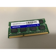兩支 DDR3 1333 2GB 2G 終保/雙面/筆記型 記憶體 威剛A-DATA+RAMAEL共4G 一起帶走