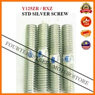 Yamaha RXZ / Y125Z 125Z Y125 Bold Stud Screw Block Tiang Standard Silver Racing Motosikal Motorcycle Spare Parts