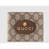 新款Gucci 男士虎頭短夾