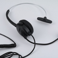 High Quality Call Center Telephone /Ip Phone Headset With Adjustable Boom Mic 4-Pin Rj9 Modular Conn