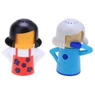 (❤PROMO❤)Mother Pattern Microwave Oven Steam Cleaner Kitchen Cleaning Tool