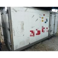 三噸半14尺堅達一路發冷凍車廂