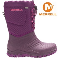七折出清 Merrell 兒童雪靴/兒童雪鞋/兒童靴子/防水透氣/滑雪/旅遊 MLC55594  女童紫色