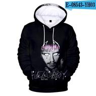 Trendy Lil Peep 3d Hoodies เสื้อ Hell Boy Lil Peep ผู้ชายผู้หญิง Hooded Hody ชายหญิง Cry ทารกแขนยาวเสื้อผ้า