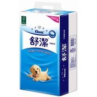 【舒潔】平版衛生紙300張(6包x8串)