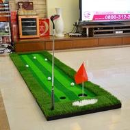 特價POLO室內高爾夫模擬器果嶺推桿練習器套裝球道練習毯高球用品