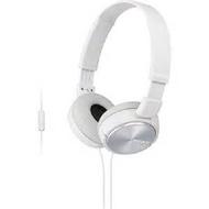 SONY MDR-ZX310AP 摺疊耳罩式立體聲耳機 白色