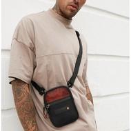🔥In Stock🔥Superdry Sports Flight Bag (Black / Orange)