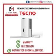 Tecno TAC 700C Vertical Casement Aircon