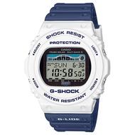 CASIO GWX-5700SS-7 電波錶(白X藍)
