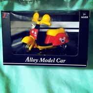 米奇小機車Alloy Model Car