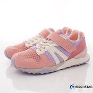 Moonstar月星機能童鞋-HI系列穩健機能款-MSC22074粉-17-24cm